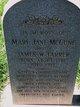 martha jane mcewen farrer  1838   1855    find a grave photos