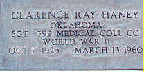 Clarence Ray Haney