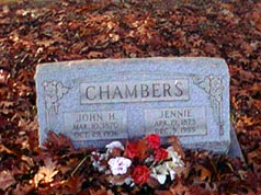 Jennie B. <i>Morris</i> Chambers