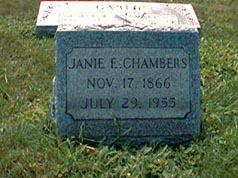Janie Eliza <i>Marsh</i> Chambers