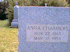 Anna <i>Fish</i> Chambers