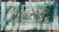Georgia Ann <i>Hill</i> Cunningham