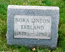 Mrs Nora Emily <i>Linton</i> Erbland