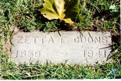Zetta Emma <i>Crowell</i> Coons