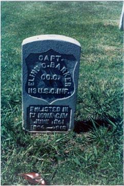 Capt Elihu C. Barker