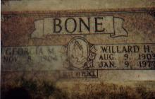 Willard Hazen Bone, Sr