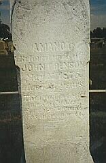 Amanda <i>Hutchison</i> Benson