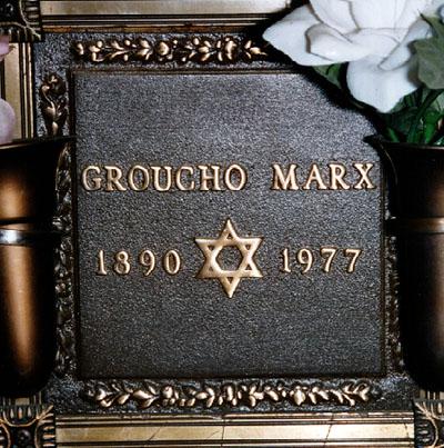 Tumba de Groucho Marx
