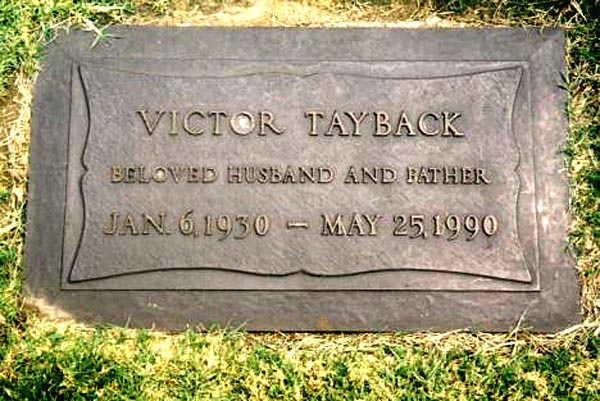 vic tayback star trek
