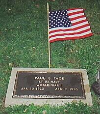 Lieut Paul Levi Page