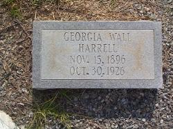 Georgia <i>Wall</i> Harrell