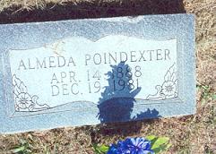 Almeda <i>Poindexter</i> Poindexter