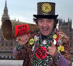 David Edward Screaming Lord Sutch Sutch