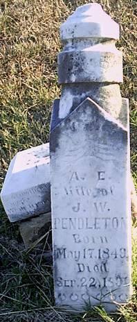 Alice Elizabeth <i>Hodges</i> Pendleton