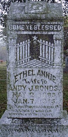 Ethel Annie Bonds