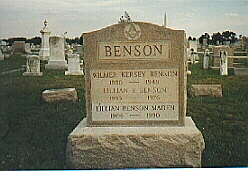 Wilmer Kersey Benson