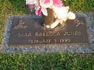 Sara Rebecca Jones