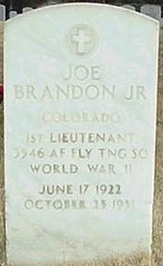 Lieut Joseph Brandon, Jr