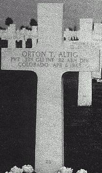 Pvt Orton T Altig