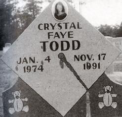 Crystal Faye Todd Crime Scene