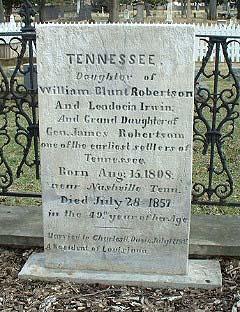 Tennessee <i>Robertson</i> Davis