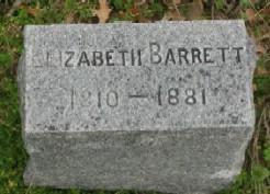 Elizabeth <i>Parks</i> Barrett