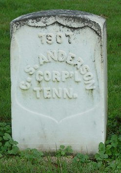 Sgt C. S. Anderson