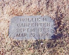 Mollie M. <i>Huffstetler</i> Carpenter