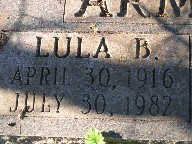 Lula Bell <i>Leaster</i> Armstrong