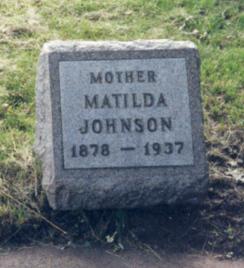 Matilda <i>Johnson</i> Johnson