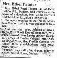 Pearl Ethel <i>Carney</i> Painter