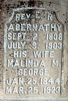 Malinda M. <i>George</i> Abernathy