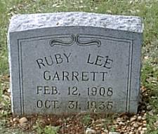 Ruby Lee <i>Reid</i> Garrett