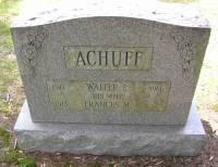 Walter E Achuff