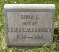 Anna L Alexander
