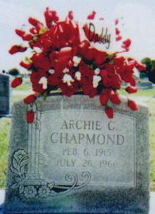 Archie Ceaser Chapmond