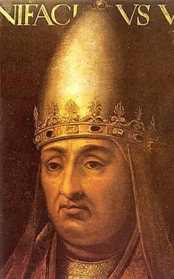 Pope Boniface, VIII