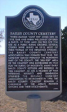 Bailey County Cemetery