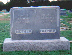 Almeda M. <i>Irons</i> Chapmond