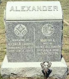 Capt Allen F Alexander
