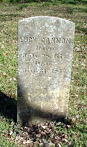 Lucy <i>Cannon</i> Hill