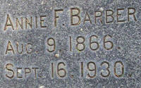 Annie F Barber