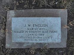 J. W. English