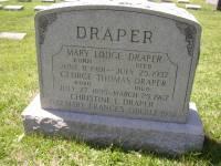 Mary <i>Lodge</i> Draper