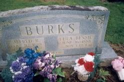 Eula Bessie <i>Brown</i> Burks