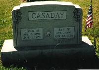 Edna M <i>Sims</i> Casaday