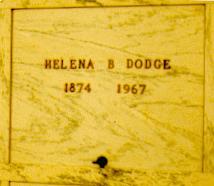 Annie Helena Lena <i>Burnham</i> Dodge