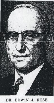 Col Edwin Jehu Rose