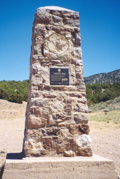 Lookout Pass Pet Cemetery - along the Pony Express