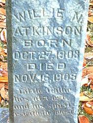 Willie N Atkinson